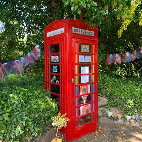 Phonebox rainbows- J.Watt