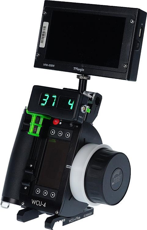 WCU-4 bracket to High Bright Display/Handset & Top/Bottom of the