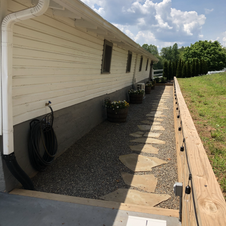 Side Walkway for Guests