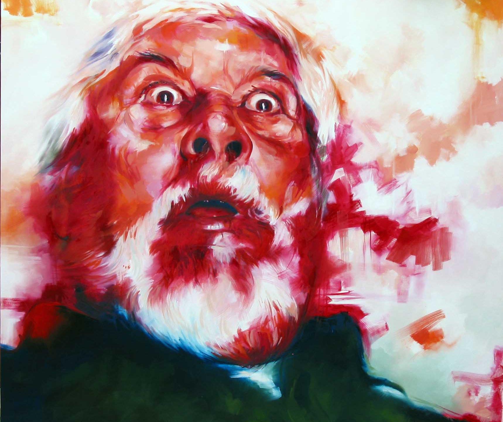 COD MV0977, Mario Vespasiani, san tommaso, olio su tela,  180x200cm 2007