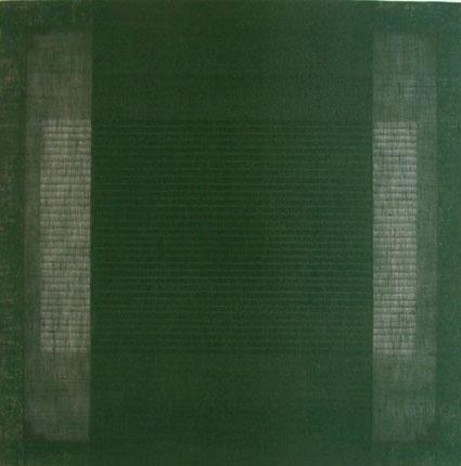 COD SE0460, Salvatore Emblema, senza titolo, terre colorate su tela di juta, N.a. 462-150x150 197