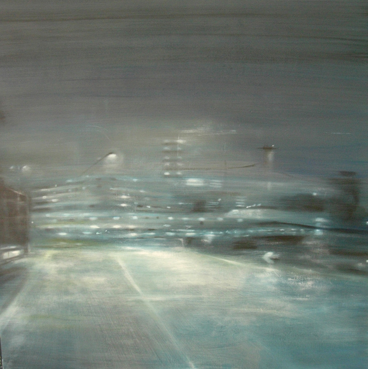 COD AB0894, Angelo Bellobono, sarajevo again 2 120 x 100 acrylic on canvas