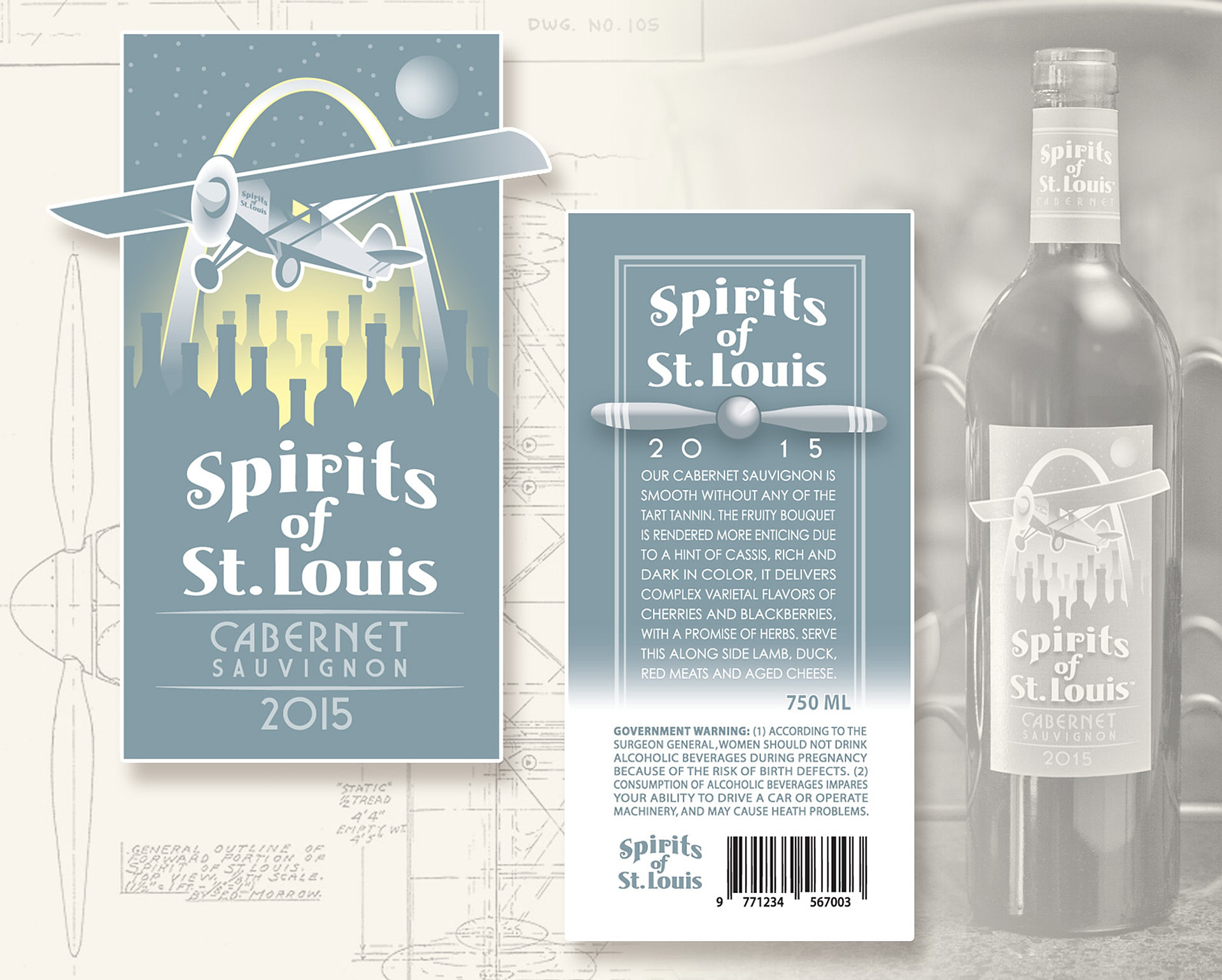 Color printing at purdue - Spirits Of St Louis