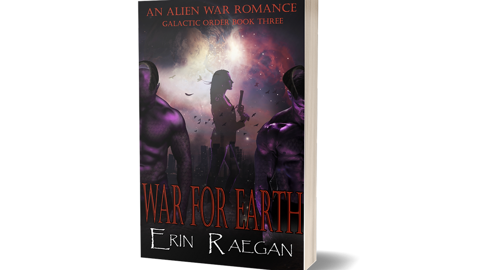 "SIGNED PAPERBACK ""WAR FOR EARTH"""