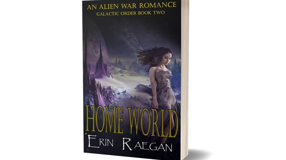 "SIGNED PAPERBACK ""HOME WORLD"""