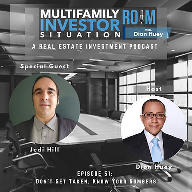 MISR EP51: Don't Get Taken.  Know Your Numbers