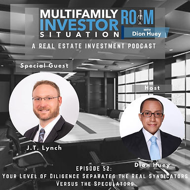 MISR EP52: Your Level of Diligence Separates the Real Syndicators Versus the Speculators