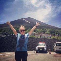 Kate Mt Fuji.JPG