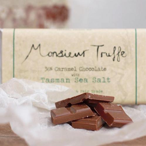 Monsieur Truffe Milk Chocolate Bar