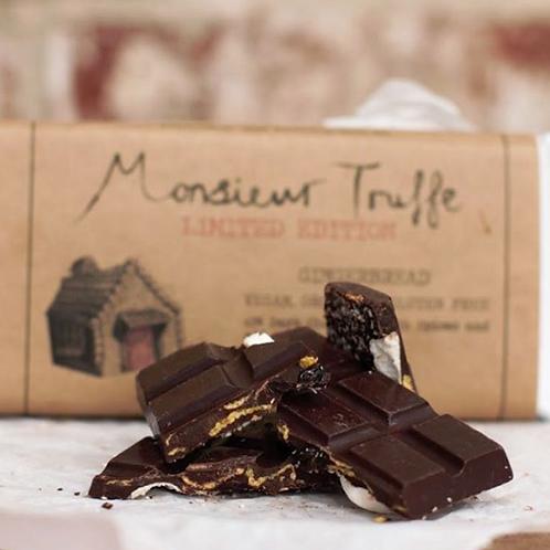 Monsieur Truffe Dark Chocolate Bar