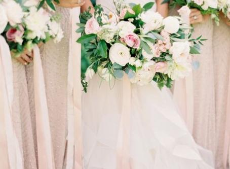 Blush coloured Weddings