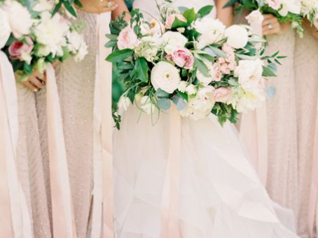 Blush coloured Weddings
