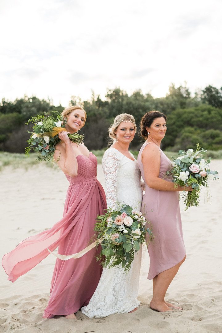 South Coast Beach Wedding