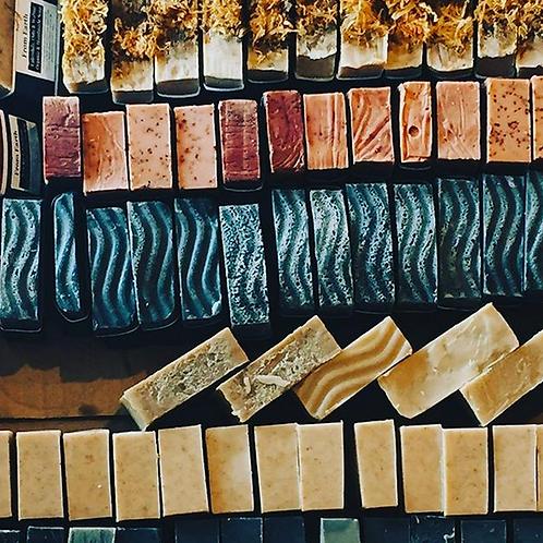 From Earth Handmade Organic Soap Bars