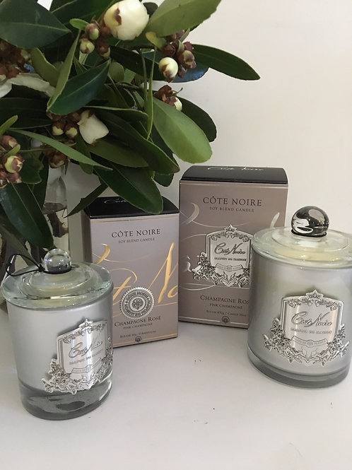 Cote Noire Champagne Rose Candles from $30