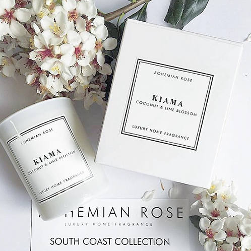 Bohemian Rose 'Kiama' Candle or Diffuser