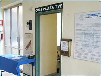 Ingresso Unità Operativa Cure Palliative (UOCP)