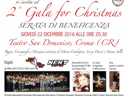 2° Gala for ChristmasSerata di Beneficenza