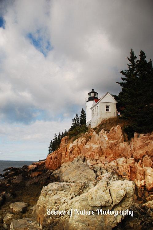 Bass Harbor Head Light - Acadia National Park, Maine