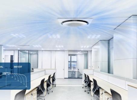 360시스템에어컨 어떤 공간에도 조화롭게 어우러지는 원형 디자인