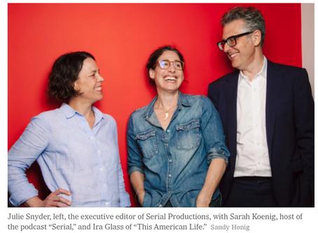 Le New York Times rachète le producteur de podcasts Serial pour 25 millions de $
