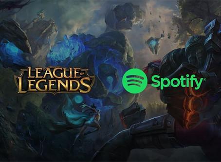 Spotify lance un podcast League of Legends