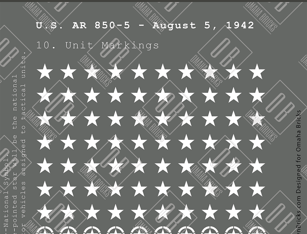 Battlin' Bricks Allied Markings