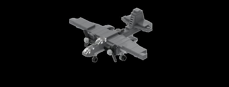 Battlin' Bricks A-20 Havoc instructions