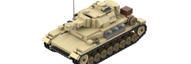 Panzer IV ausf F1 Afrika Korps Instructions