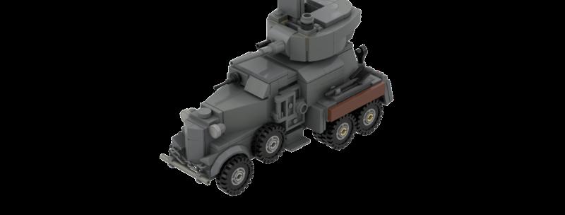 BA-6 Armoured Car Instructions