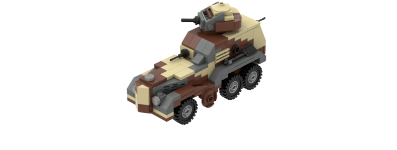 Type 93 Armoured Car Instructions