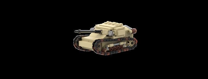 L3-33 Tankette instructions