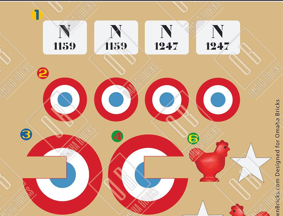 Nieuport 11 Markings