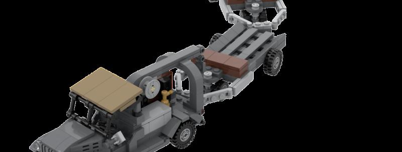 M6 Bomb Truck + M5 Bomb Trailers Instructions