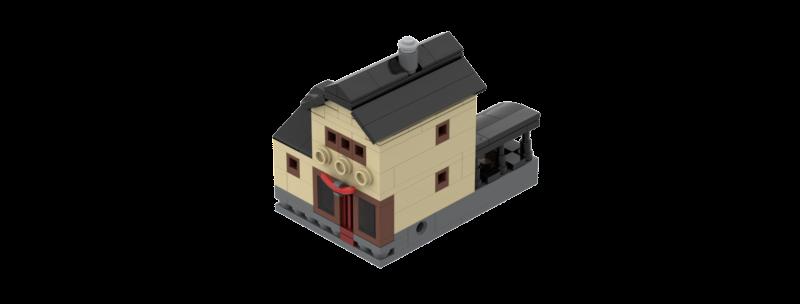 Battlin' Bricks City Butcher Shop Instructions