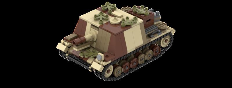 Sturm-infanteriegeschutz 33B Instructions