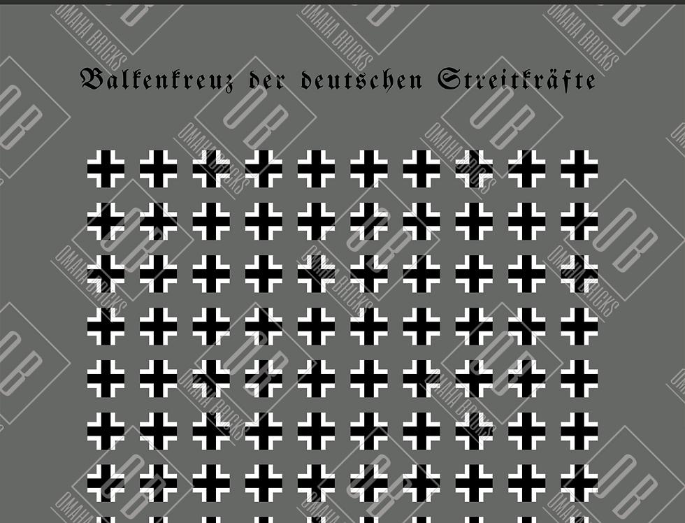Battlin' Bricks German markings