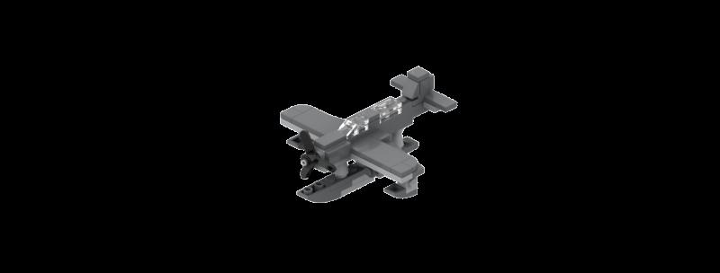 Battlin' Bricks Vought OS2U Kingfisher Instructions (Quad Pack)