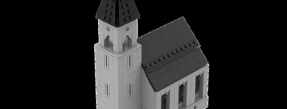 Battlin' Bricks City European Church Instructions