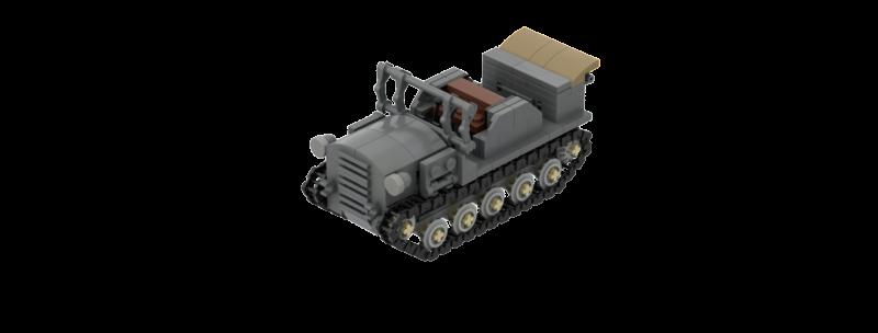 Type 98 Shi-Ke Prime Mover + Type 90 75mm Instructions