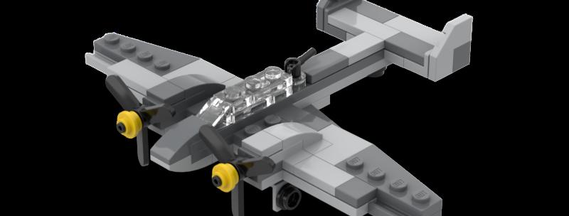 Battlin' Bricks Messerschmitt BF-110 Instructions