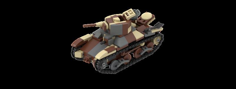 Type 95 Ha Go Instructions