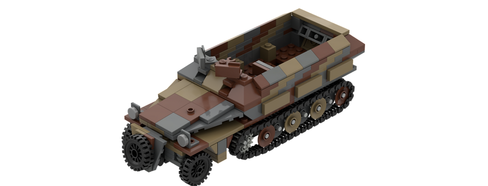 Sdkfz 251/1 Camo instructions