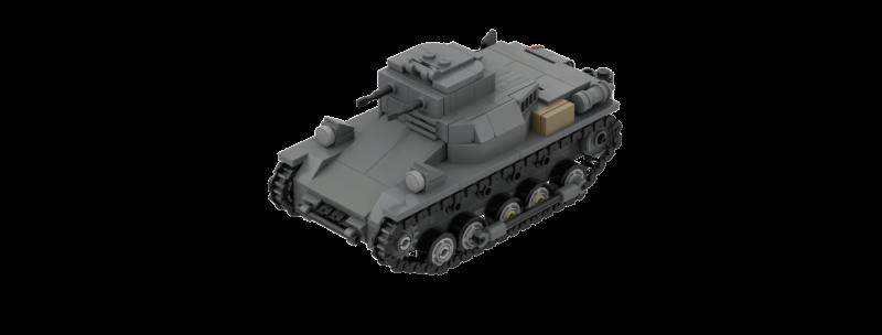 Panzer I ausf.B Instructions