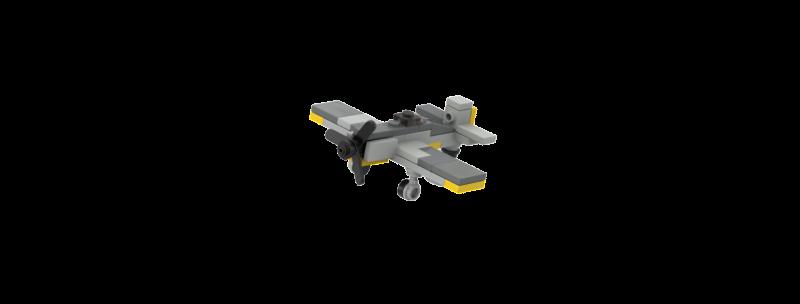 Battlin' Bricks Focke-Wulf Fw-190 W Instructions