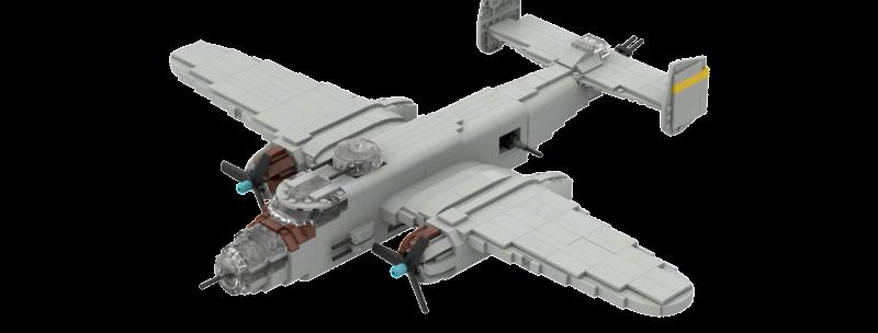 B-25 J Mitchell Instructions
