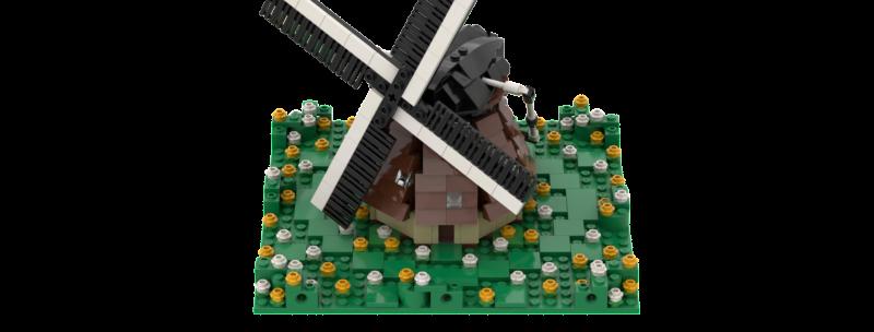 Battlin' Bricks City Dutch Windmill Instructions