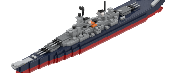 Warships Iowa Class Instructions