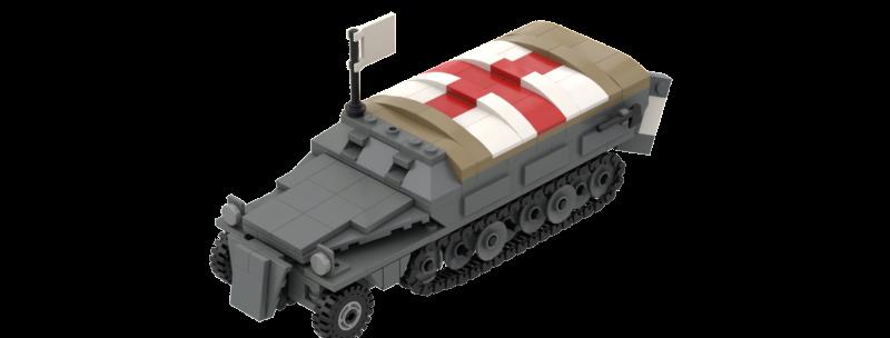 Sdkfz 251/8 Ambulance Instructions