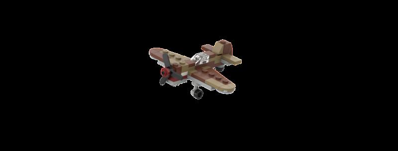 Battlin' Bricks P-40 Instructions (Triple Pack)